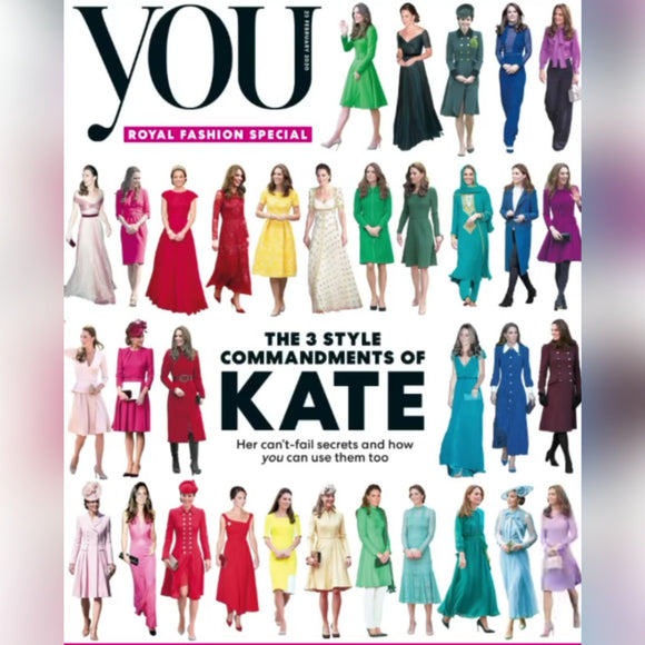 UK You Magazine February 2020: Kate Middleton Duchess of Cambridge