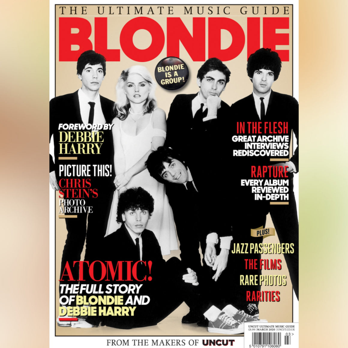 DEBBIE HARRY BLONDIE - ULTIMATE MUSIC GUIDE MAGAZINE (March 2020)