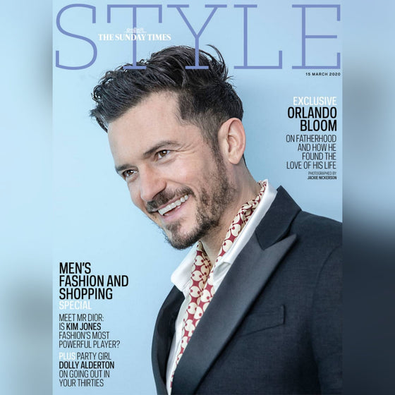 UK Style Magazine March 2020: ORLANDO BLOOM COVER FEATURE