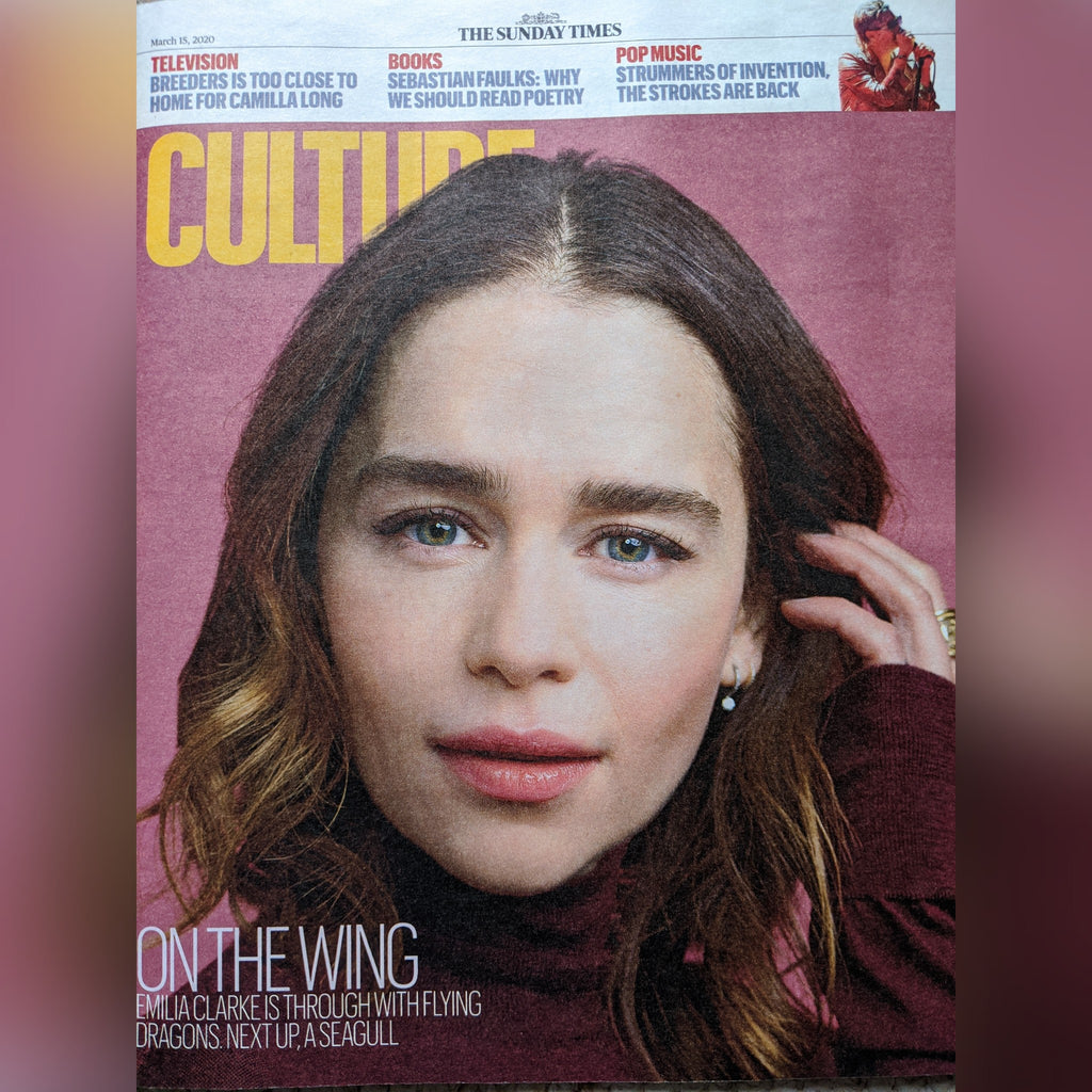 UK Culture Magazine March 2020: EMILIA CLARKE The Strokes KARITA MATTILA