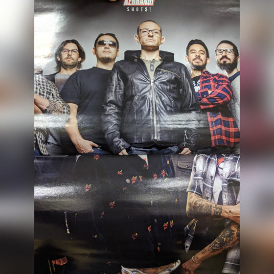 Kerrang! Magazine 21st March 2020: Chester Bennington Linkin Park Poster