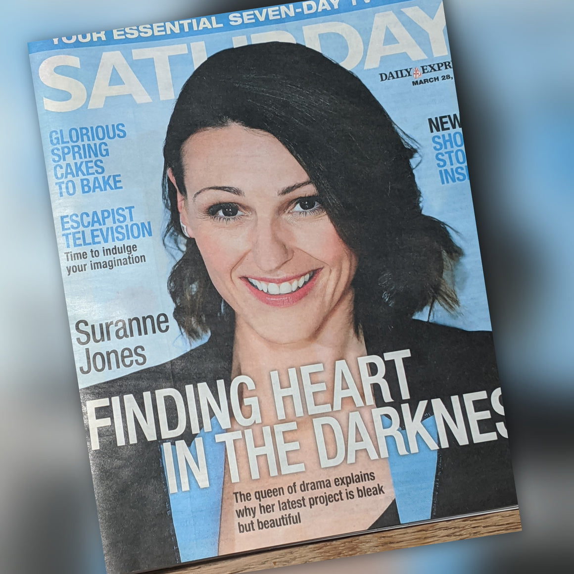 UK Saturday Magazine March 2020: Suranne Jones Cover