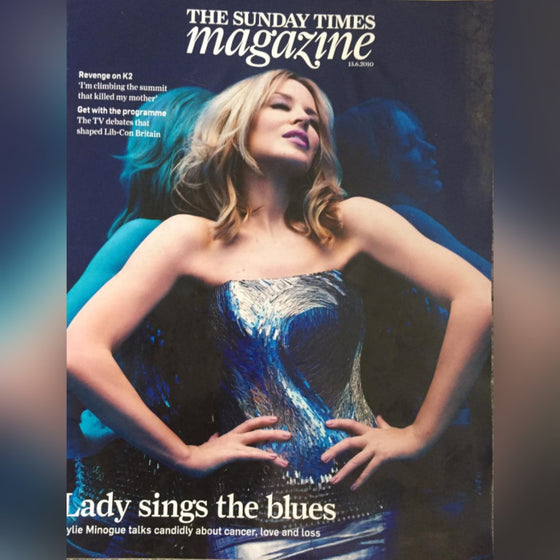 Sunday Times Magazine 13th June 2009: Kylie Minogue