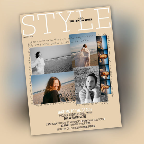 UK STYLE Magazine April 2020: DREW BARRYMORE COVER FEATURE