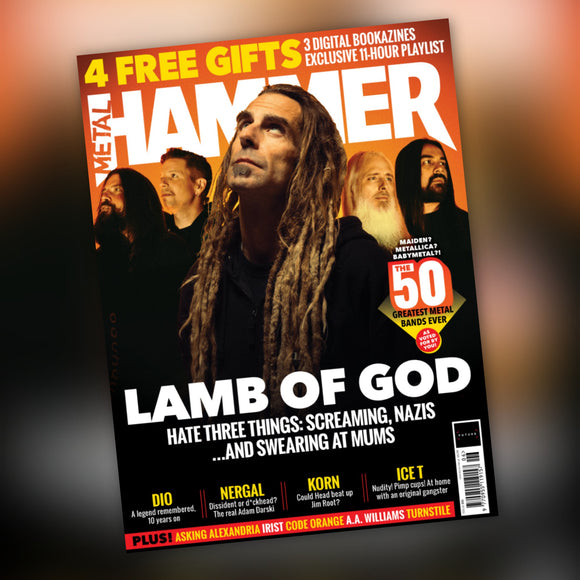 Metal Hammer magazine #335 June 2020 Lamb Of God + Free Gifts - Babymetal