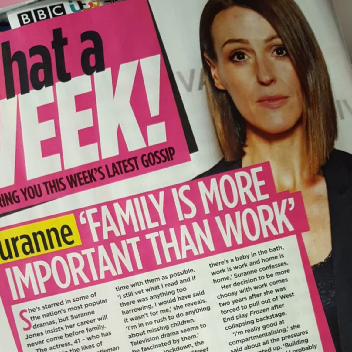 Woman Magazine May 2020: Suranne Jones interview