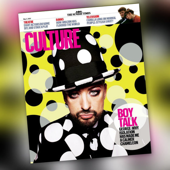 UK Culture Magazine 3rd May 2020: Boy George Exclusive