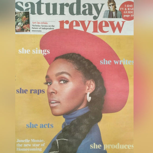UK Times Review May 2020: JANELLE MONAE Tangerine Dream Edgar Froese David Bowie