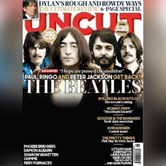 UK Uncut Magazine August 2020: THE BEATLES Paul McCartney BOB DYLAN + Free CD