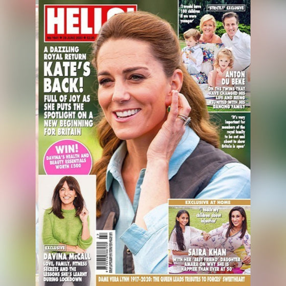 UK Hello! Magazine June 29 2020: KATE MIDDLETON COVER FEATURE
