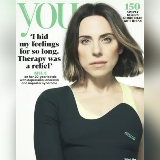YOU magazine November 2020 Mel C The Spice Girls cover and interview