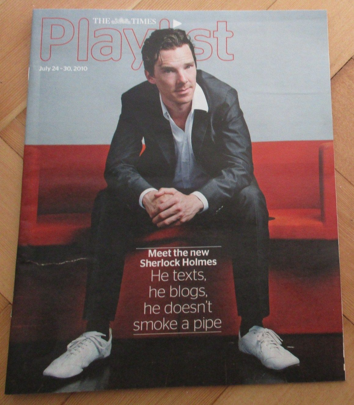 Rare 2010 Benedict Cumberbatch Cover Interview - Playlist - Sherlock