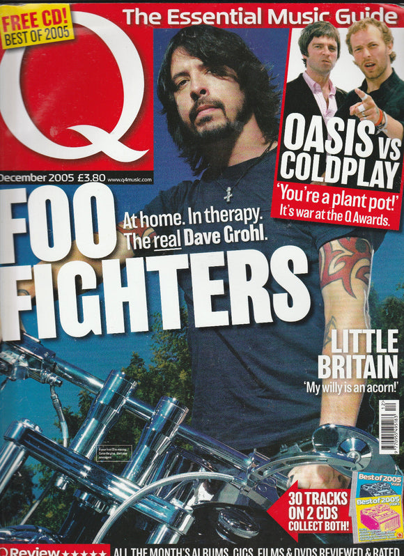 Q Music Magazine December 2005 - Dave Grohl Foo Fighters