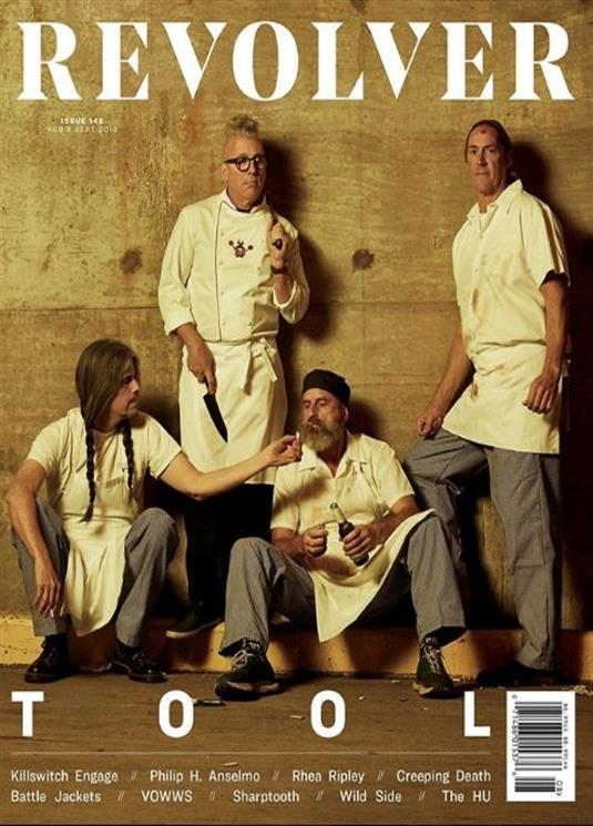 US REVOLVER Magazine August 2019: TOOL Cover Story