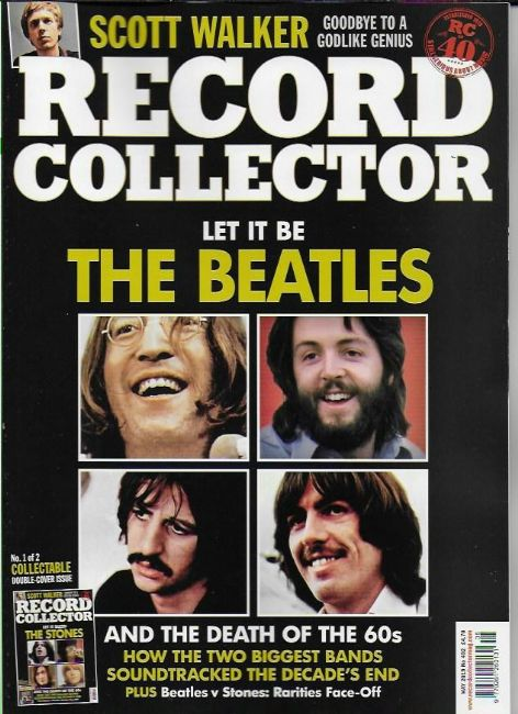 UK RECORD COLLECTOR magazine May 2019 The Beatles (Cover #1/2)