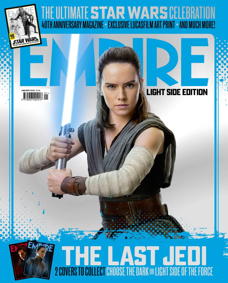 Empire Magazine January 2018 Star Wars: The Last Jedi - Daisy Ridley as Rey
