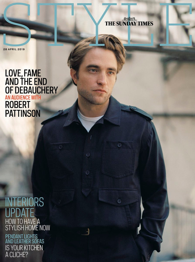 Sunday Times Style Magazine 28th April 2019: ROBERT PATTINSON COVER AND INTERVIEW