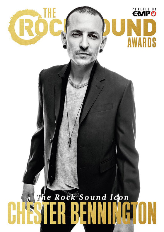 UK Rock Sound Magazine January 2018 Chester Bennington Limited Edition Cover