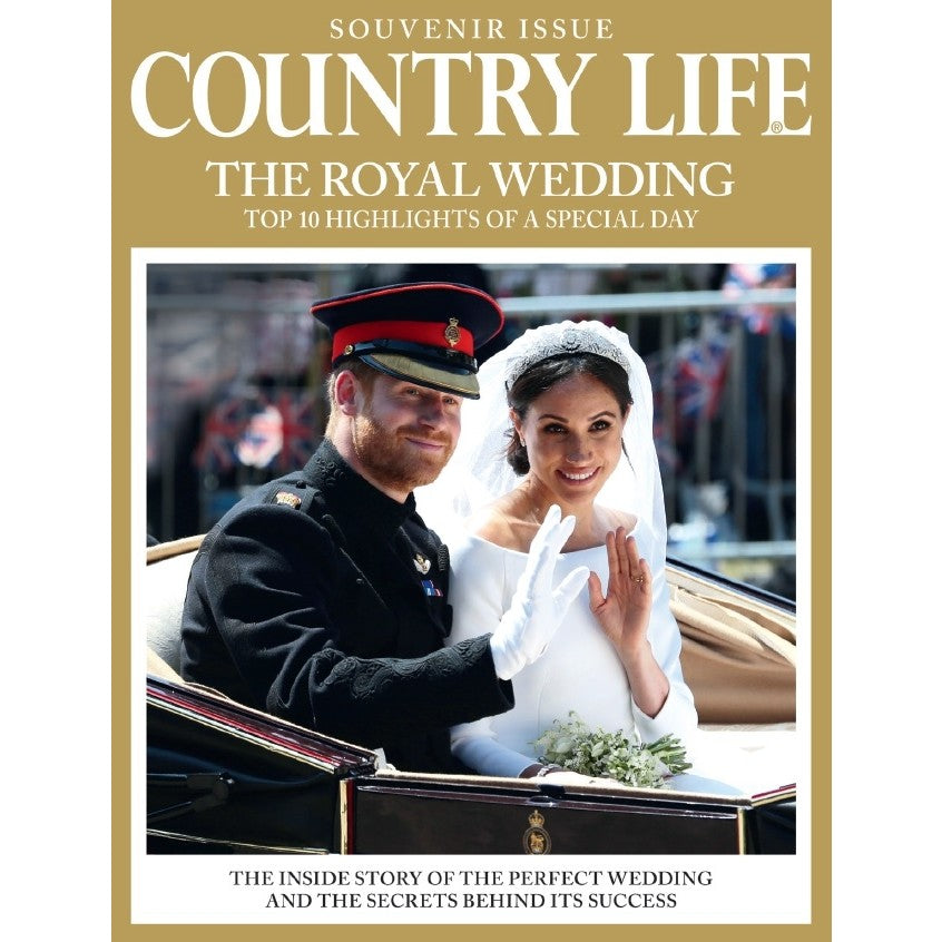 The Country Life Royal Wedding Souvenir Issue - Meghan Markle & Prince Harry