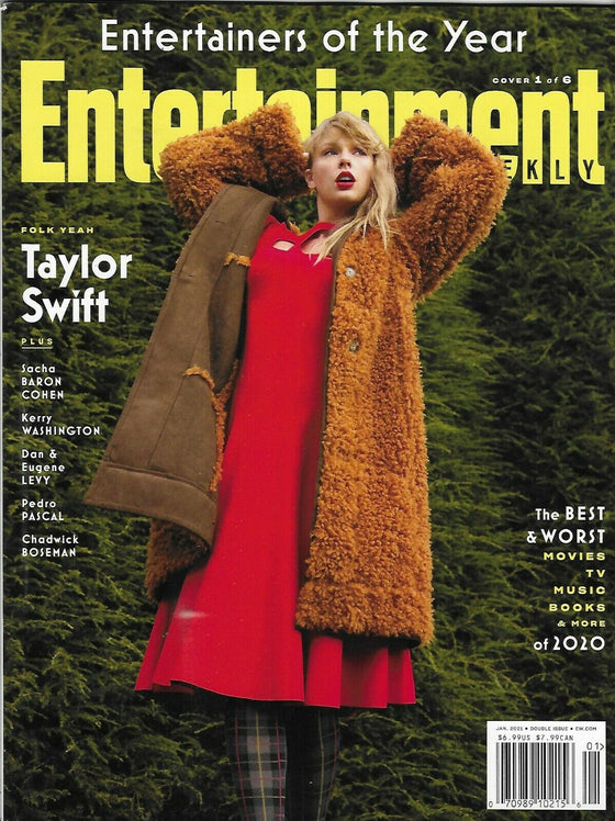 TAYLOR SWIFT - Entertainment Weekly Magazine - January 2021 - NEW