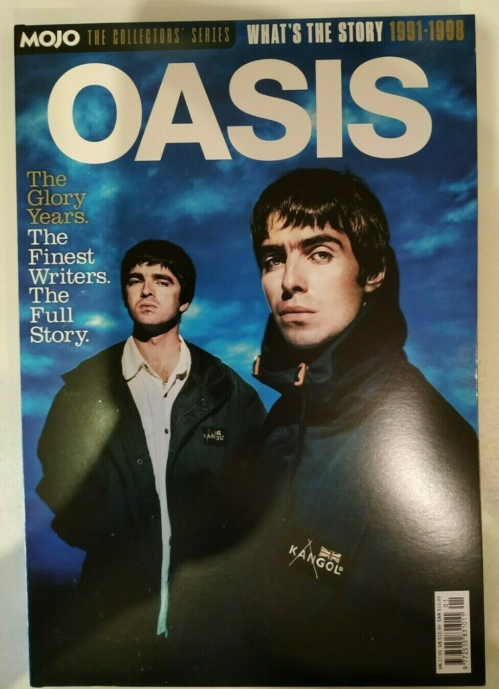 UK MOJO Collector's Series February 2021: OASIS 1991-1998 Noel / Liam Gallagher