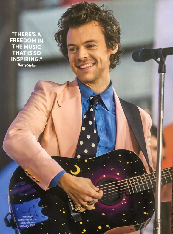 THE ULTIMATE GUIDE TO HARRY STYLES 2021 BRAND NEW MAGAZINE GLOBAL ICON MOVIE