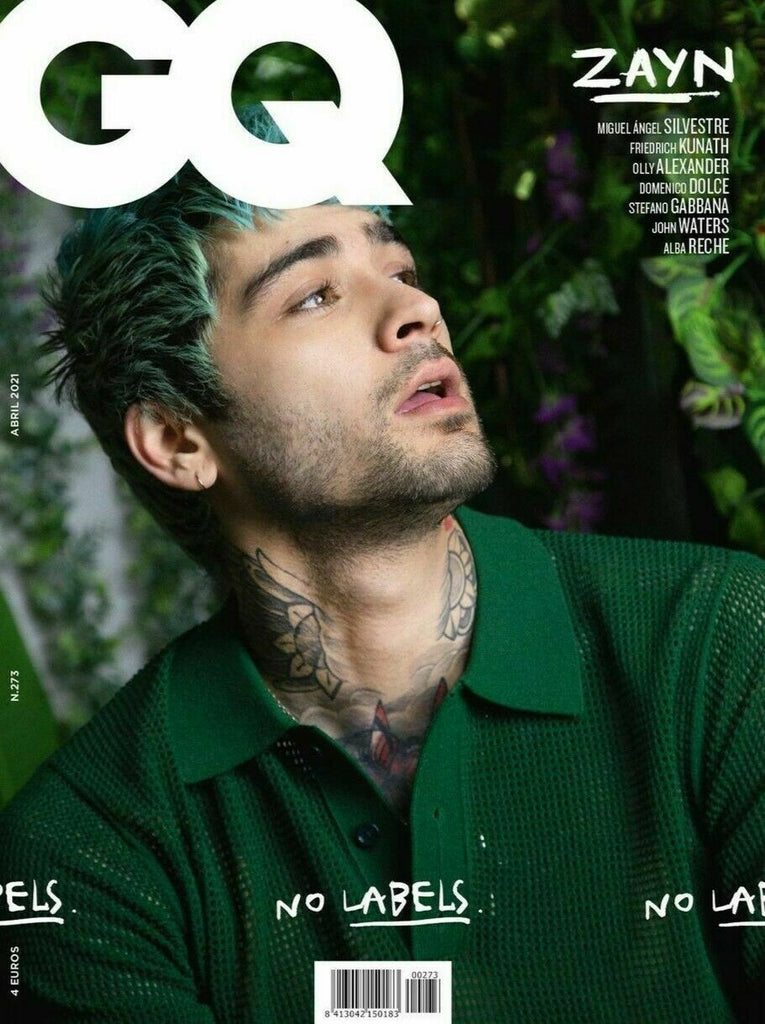 GQ SPAIN Magazine April 2021 ZAYN MALIK (USA/Canada/Rest of the World Only Listing)