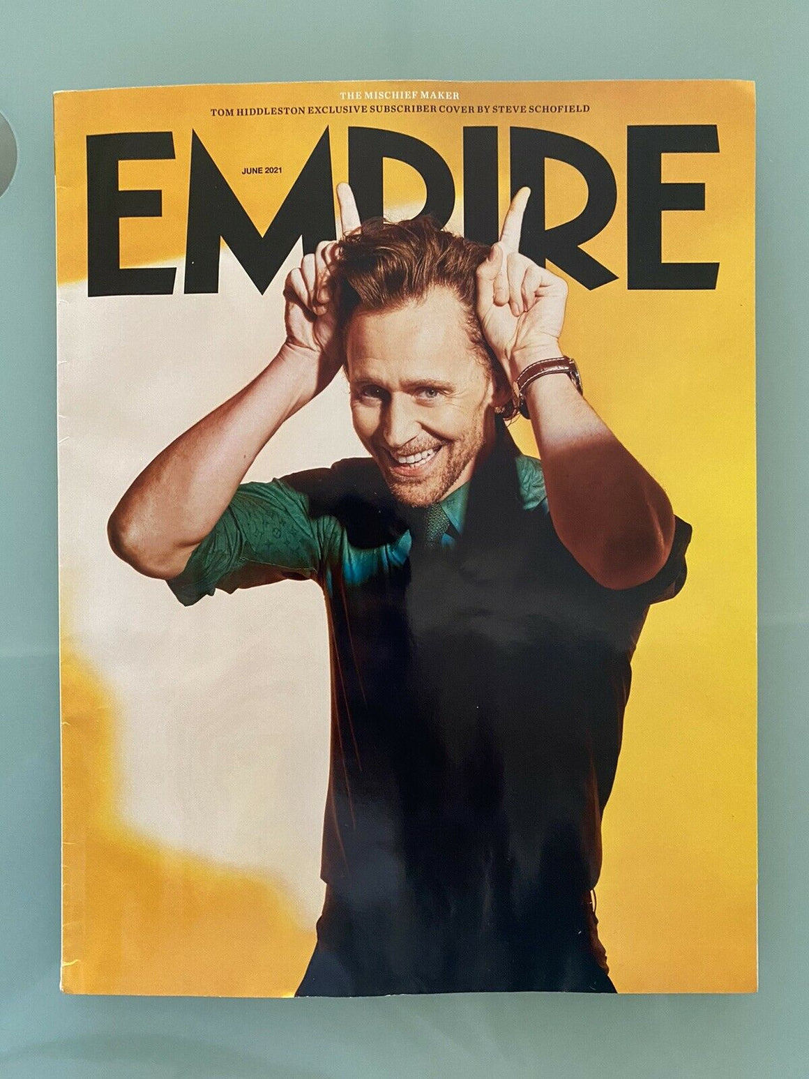 EMPIRE Magazine #388 June 2021 Tom Hiddleston Loki Marvel LIMITED COVER