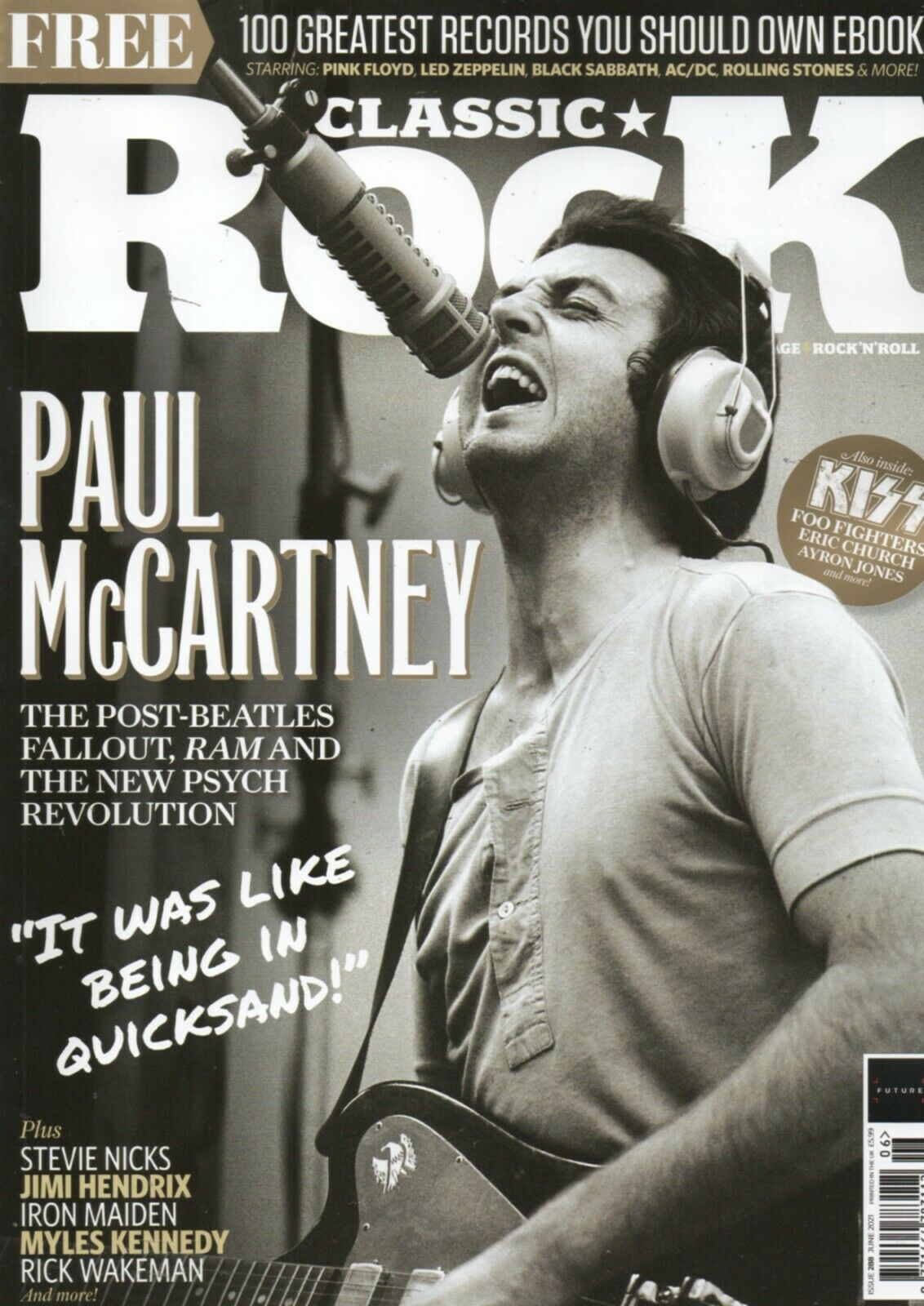 CLASSIC ROCK magazine - June 2021 | Issue #288 Paul McCartney The Beatles