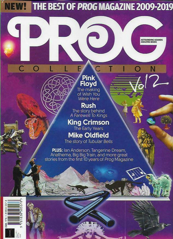 PROG COLLECTION MAGAZINE- VOLUME 2 Pink Floyd King Crimson Rush Mike Oldfield