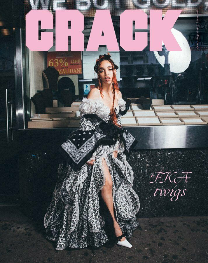 FKA TWIGS Photo Cover interview UK CRACK MAGAZINE December 2019