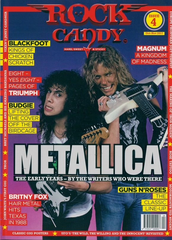 Rock Candy Magazine - Issue 4 - Metallica