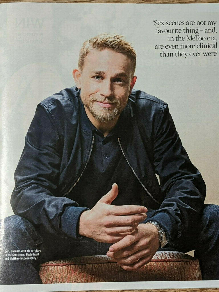 TIMES magazine February 22 2020: CHARLIE HUNNAM PHOTO INTERVIEW