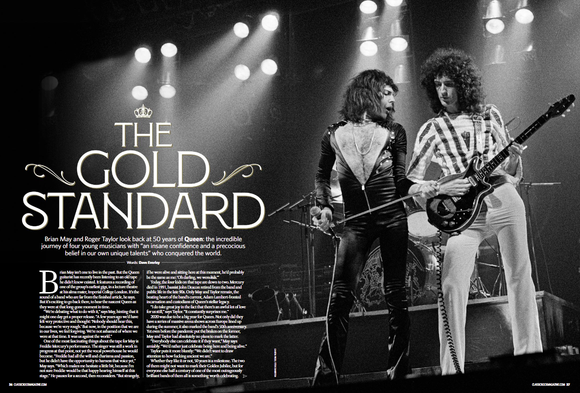 Classic Rock Magazine March 2021: QUEEN Freddie Mercury Brian May Exclusive