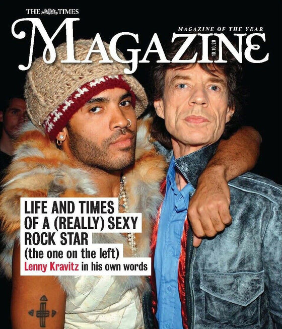 UK TIMES Magazine October 2020: LENNY KRAVITZ COVER FEATURE