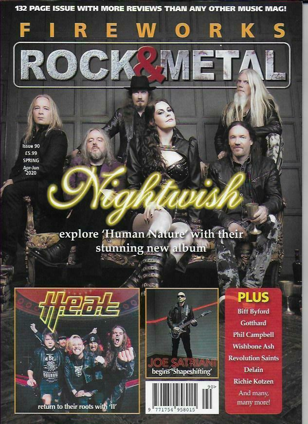 Fireworks Magazine Issue 90: Nightwish Human Nature Special