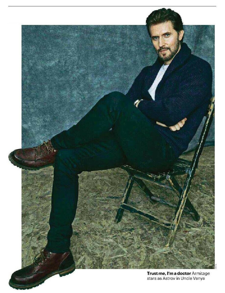 UK Culture Magazine January 2020: Richard Armitage Interview