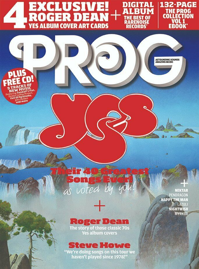 UK PROG Magazine March 2020: YES Steve Howe ROGER DEAN