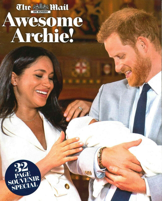 UK Mail on Sunday May 2019 PRINCE HARRY MEGHAN MARKLE Royal Baby Archie Special