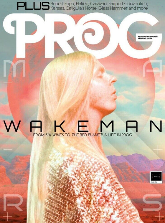 UK PROG Magazine June 2020: RICK WAKEMAN YES King Crimson