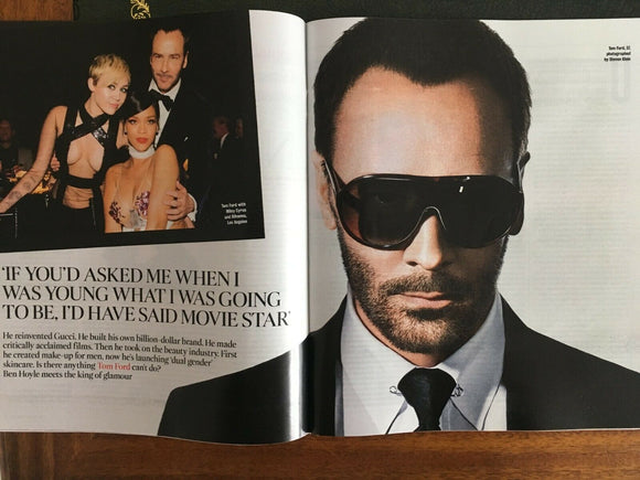 TIMES magazine 17 August 2019 - Tom Ford - Sophie Rundle (Gentlemen Jack) Suranne Jones
