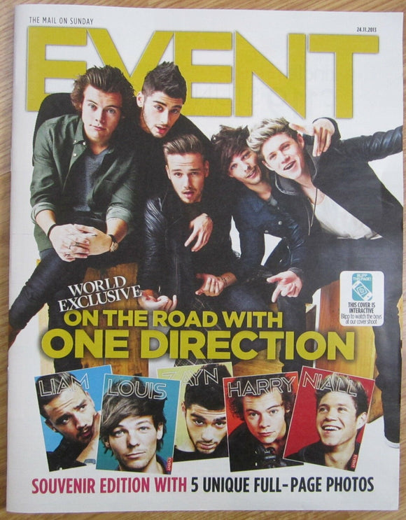 One Direction – Event magazine – 24 November 2013 Harry Styles Niall Horan