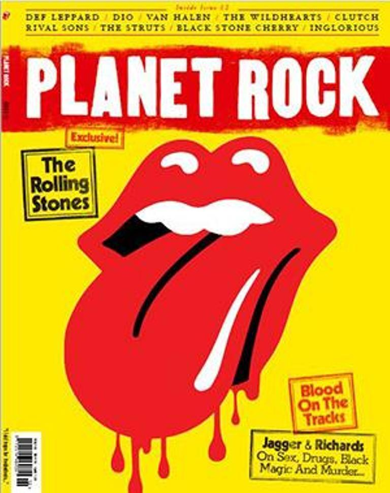 PLANET ROCK magazine Issue #12 January 2019 The Rolling Stones Keith Richards