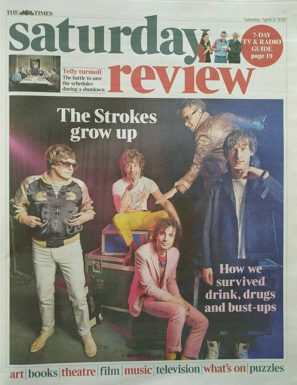UK Times Review April 2020: The Strokes Julian Casablancas Interview