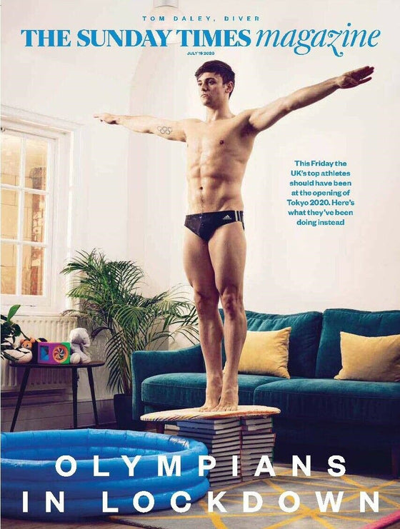 UK Sunday Times Magazine July 2020: TOM DALEY COVER FEATURE