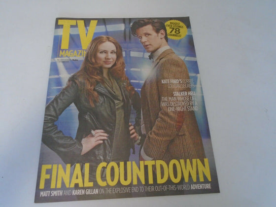 SUN TV Magazine Sept 2012 Matt Smith Karen Gillan Doctor Who
