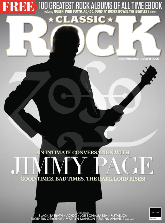 Classic Rock Magazine November 2020: LED ZEPPELIN Jimmy Page MARILYN MANSON