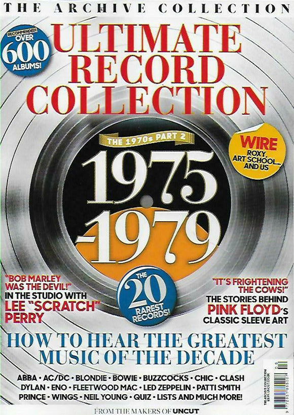 ULTIMATE RECORD COLLECTION MAG Part.2 1975-1979 David Bowie Abba Prince Paul McCartney (Wings)