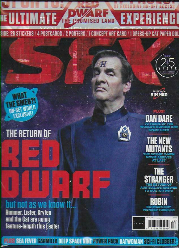 SFX magazine #325 April 2020: The Return of Red Dwarf + ALL FREE GIFTS (Random cover)