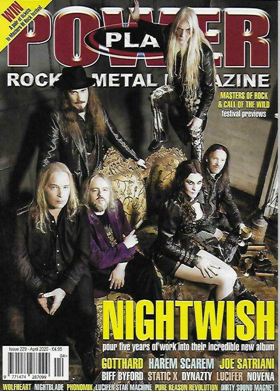 POWER PLAY Issue 229 April 2020: NIGHTWISH COVER FEATURE